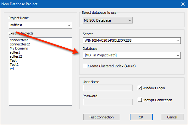 New Project | Watch My Domains ISP | MS SQL Server