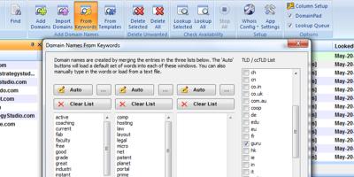Keyword Based Domain Name Generators