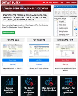 Domain Management Software