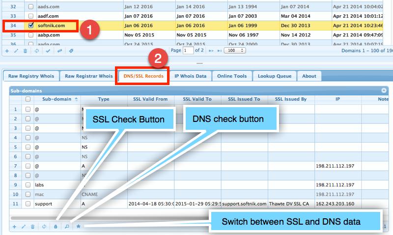Domain SSL Check