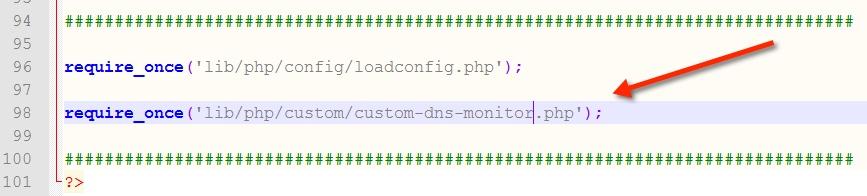 DNS Record Change Monitor
