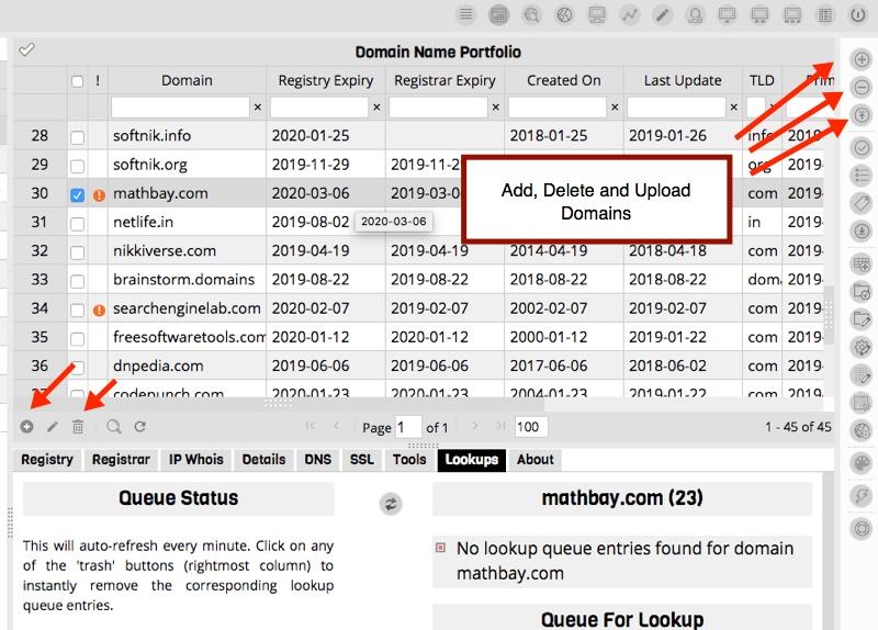 Adding Domains