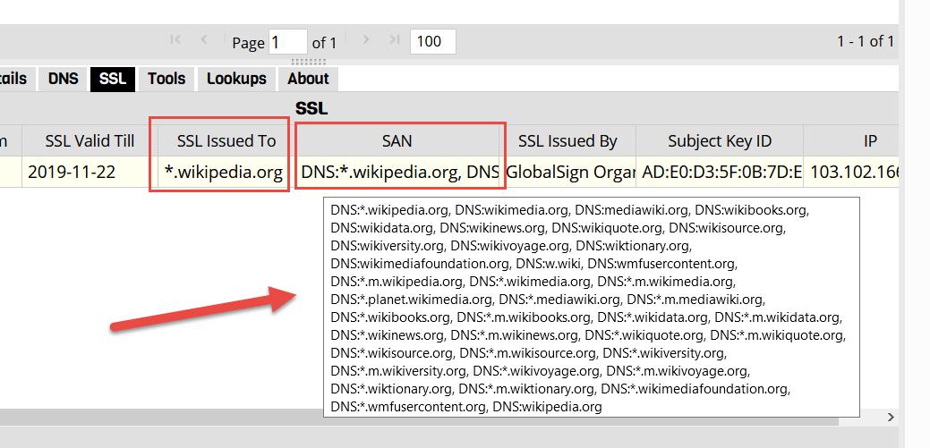 Wild Card SSL Certificates and SAN